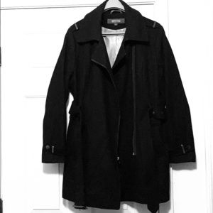 """Kenneth Cole Reaction"" pea coat,XL,black"